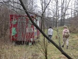 Baucontainer im Wald? Eingesendet von Markus Payrhuber