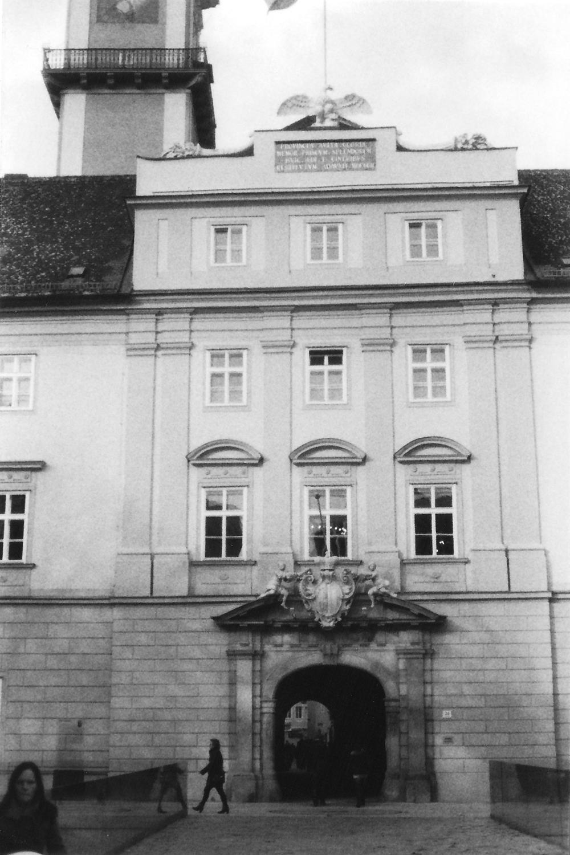 Das Landhaus.