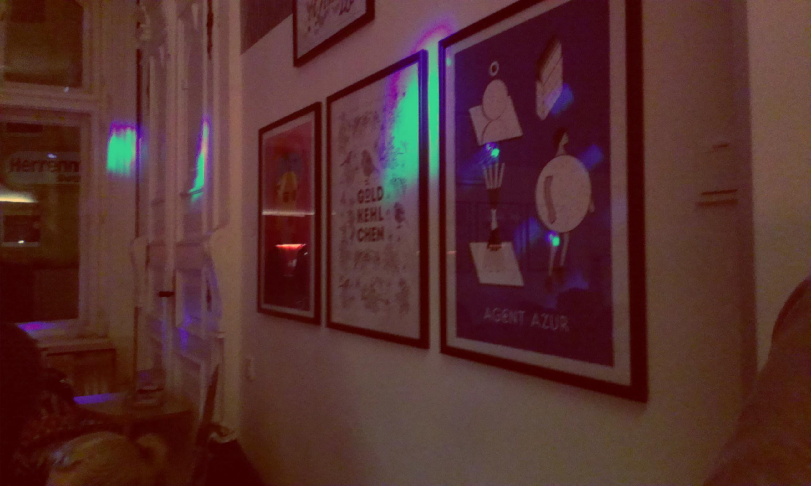 Ausstellung von Bureau F in Sonis Extrazimmer